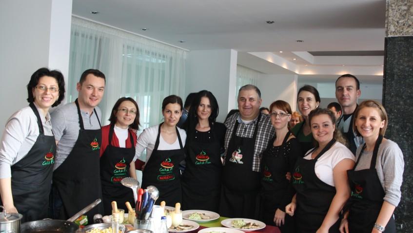 team building culinar