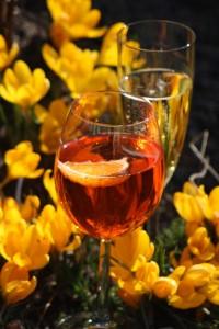 flowers&wine